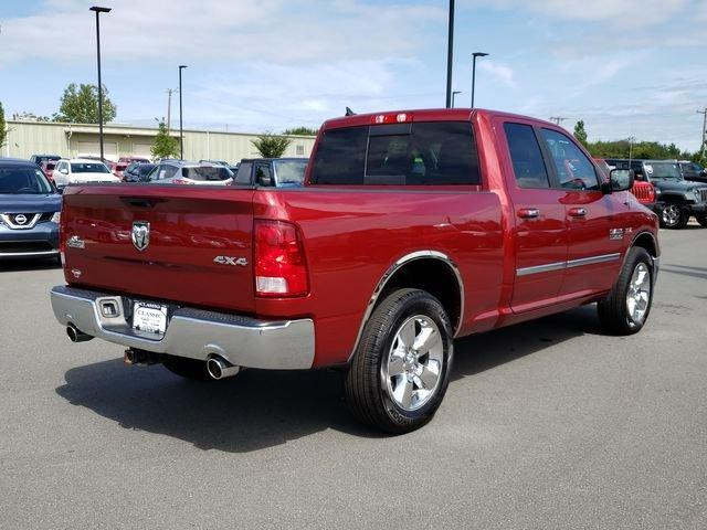 Pre-Owned 2015 Ram 1500 4WD Quad Cab 140.5 Big Horn