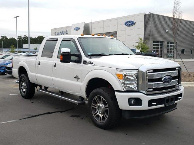 Pre-Owned 2013 Ford Super Duty F-350 SRW 4WD Crew Cab 156 Platinum