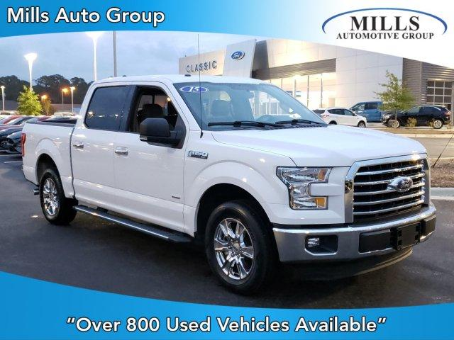 Pre-Owned 2015 Ford F-150 2WD SuperCrew 145 XLT
