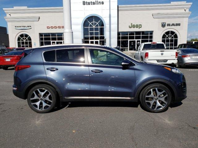 Pre-Owned 2017 Kia Sportage SX Turbo FWD